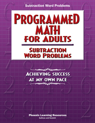 Programmed Math for Adults - Subtraction Word Problems