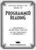 Programmed Reading - Book 17 - Student Response Book