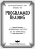 Programmed Reading - Book 18 - Student Response Book
