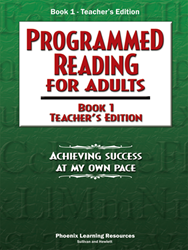Programmed Reading for Adults - Book 1 Teacher Edition