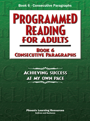 Programmed Reading for Adults - Book 6 - Consecutive Paragraphs