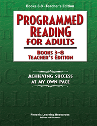 Programmed Reading for Adults - Books 3-8 Teacher Edition