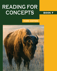 Reading for Concepts - Book F