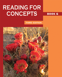 Reading for Concepts - Book G