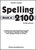 Spelling 2100 - Book A - Teacher's Guide