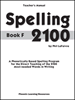 Spelling 2100 - Book F - Teacher's Guide