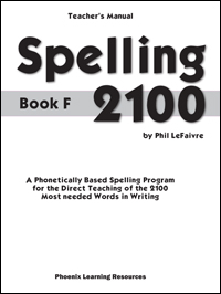 Spelling 2100 - Book F - Teachers Guide