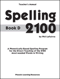 Spelling 2100 - Book D - Teachers Guide
