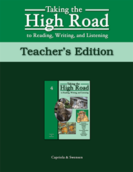 Taking the High Road to Reading, Writing, and Listening - 2nd Edition - Book 4 TG