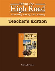 Taking the High Road to Reading, Writing, and Listening - 2nd Edition - Book 5 TG