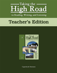 Taking the High Road to Reading, Writing, and Listening - 2nd Edition - Book 7 TG