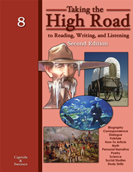 Taking the High Road to Reading, Writing, and Listening - 2nd Edition - Book 8