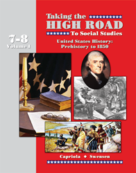 Taking the High Road to Social Studies - Book 7/8 Vol. 1