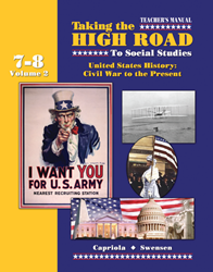 Taking the High Road to Social Studies - Book 7/8 Vol. 2 - Teachers Manual