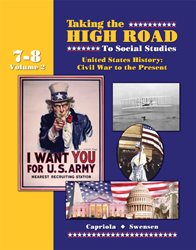Taking the High Road to Social Studies - Book 7/8 Vol. 2