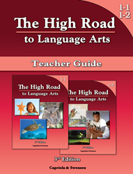 The High Road to Language Arts - 3rd Edition - Books 1-1 & 1-2 Teacher Manual