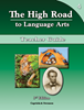 The High Road to Language Arts - 3rd Edition - Book 4 Teacher Manual