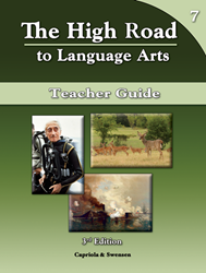 The High Road to Language Arts - 3rd Edition - Book 7 Teacher Manual