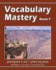Vocabulary Mastery - Book F An Intensive, Self-instructional Program to Help Students Add to their Active Speaking, Reading, and Writing Vocabularies
