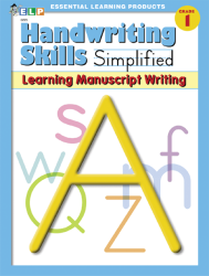 Handwriting Skills - Grade 1 - Learning Manuscript Writing