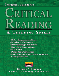 Critical Reading and Thinking Skills - Introduction