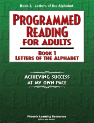 Programmed Reading for Adults - Book 1 - Letters of the Alphabet