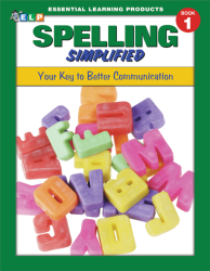 Spelling Simplified - Book 1 - Grade 1